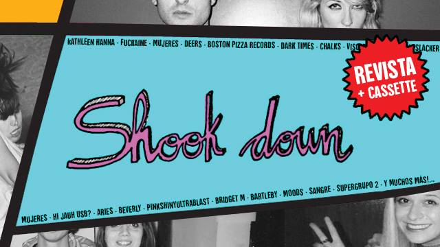 Shook Down Underzine: crowdfunding para  nuestro salto al papel