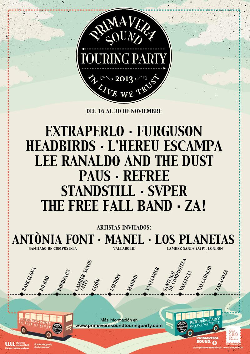 PS revela detalles sobre el Primavera Sound Touring Party
