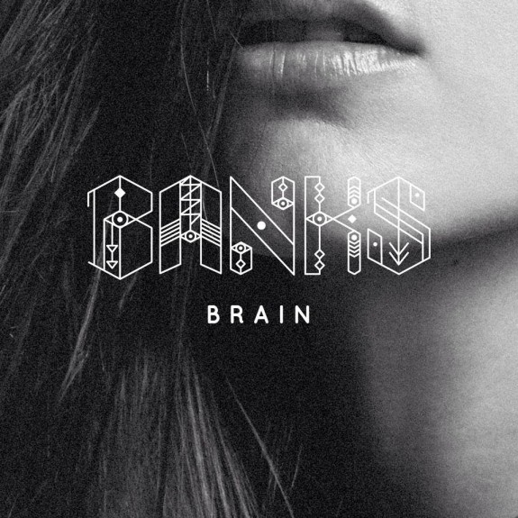 Banks colabora con Shlohmo en Brain, su tema de regreso