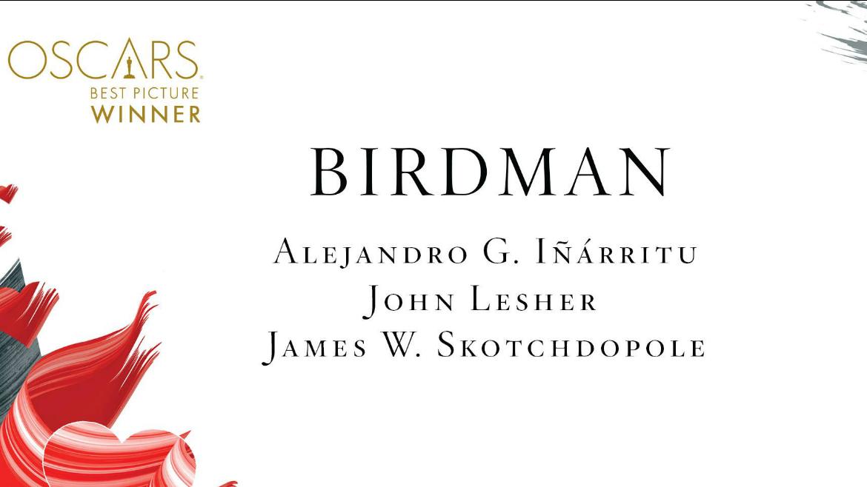 Oscar 2015: la gran noche de Birdman e Iñárritu