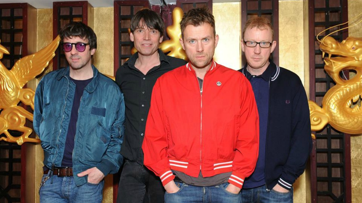 Blur recuperan en directo Trouble in the message centre
