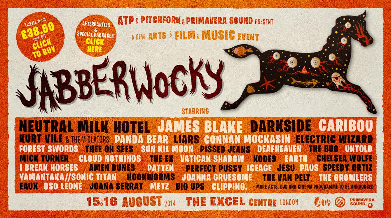 Jabberwocky confirma cartel para agosto