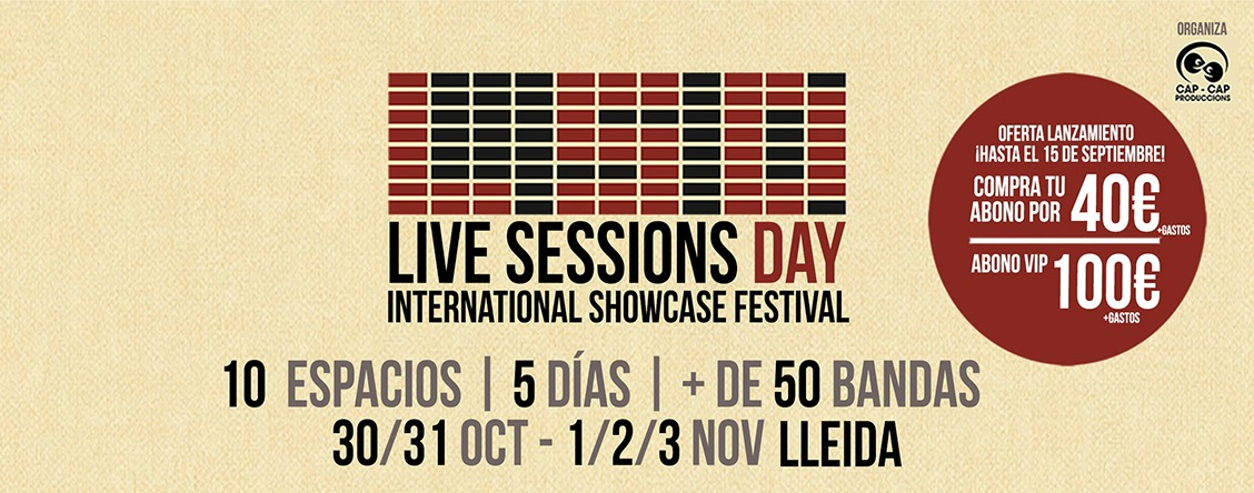 Live Sessions Day: ¿la hora de Lleida?