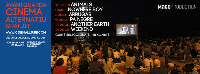 Cinema Lliure a la Platja abre ciclo con Animals