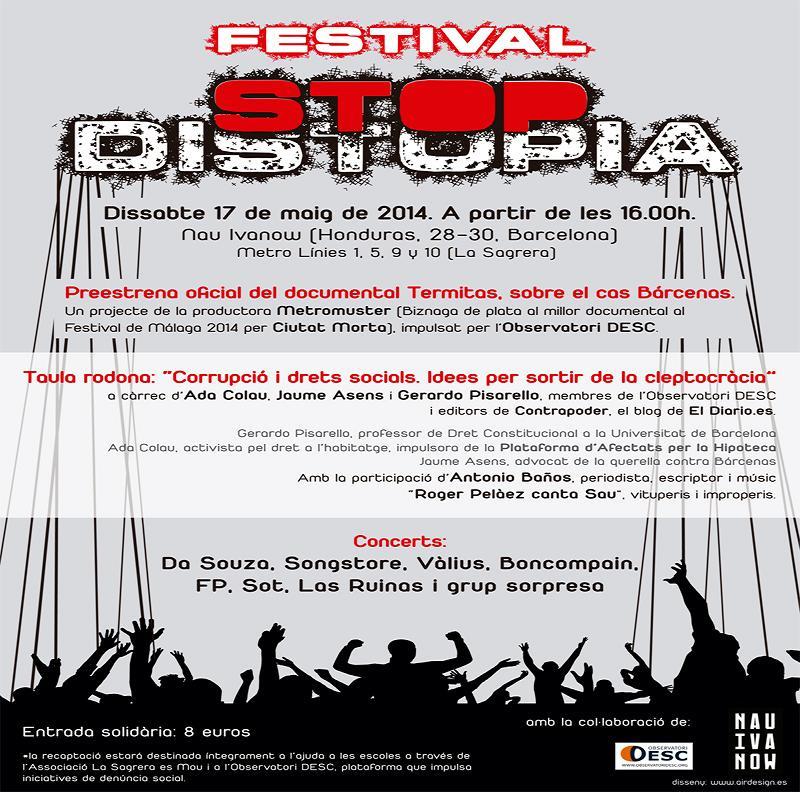 STOP Distopia preestrena el sábado del documental Termitas