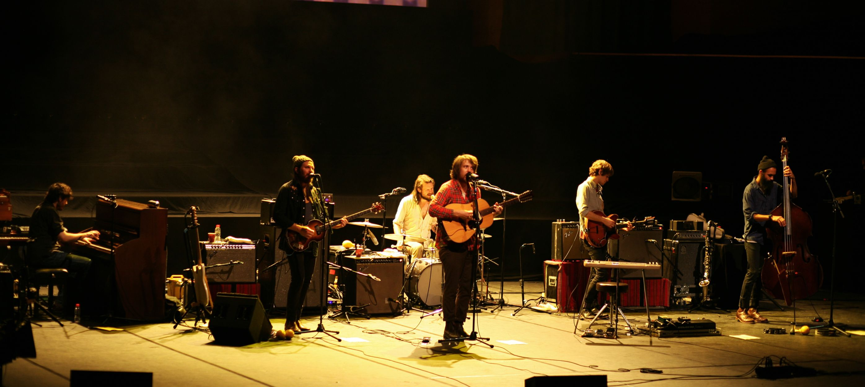Fleet Foxes. Auditori de Barcelona, 27/11/2011
