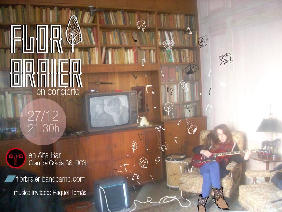 Flor Braier, de estreno en Alfa Bar