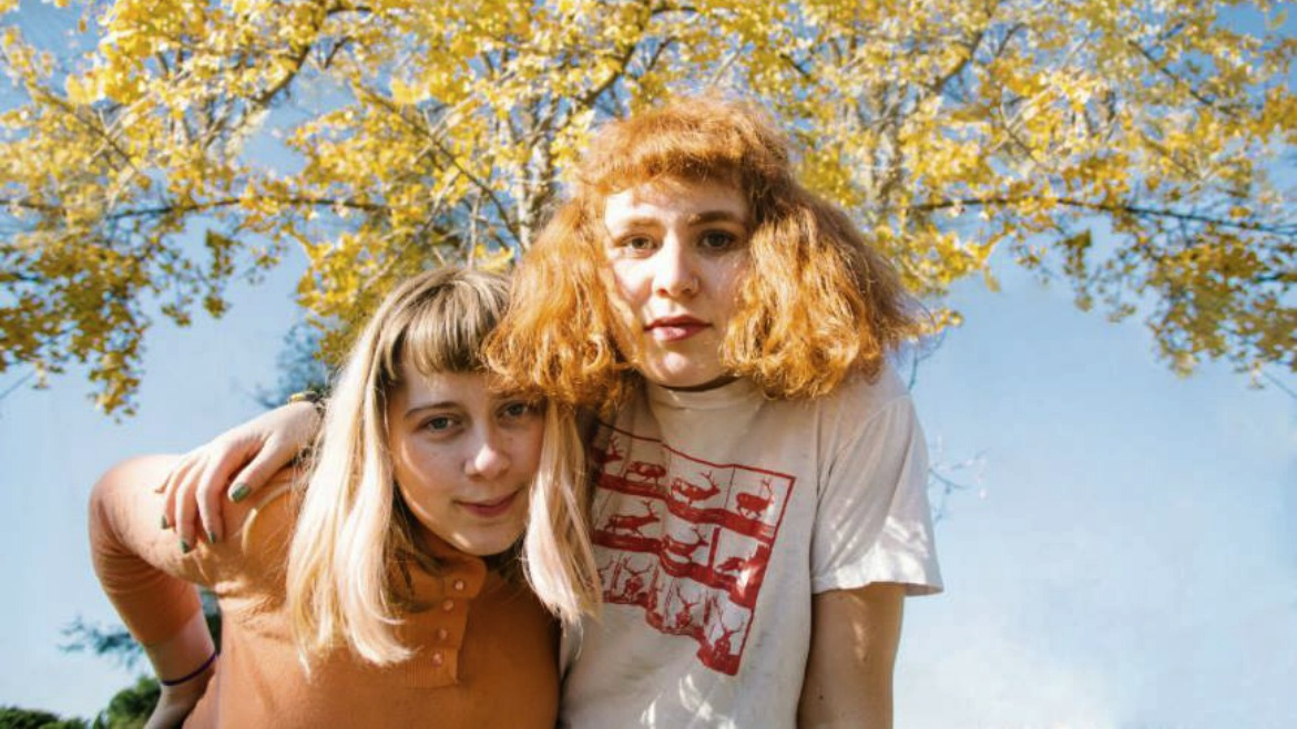 Girlpool: canto optimista con Things are OK