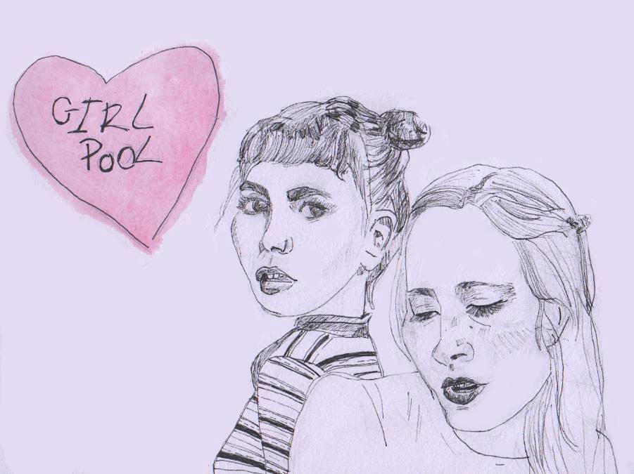 Girlpool: debut con cassette para Big Joy