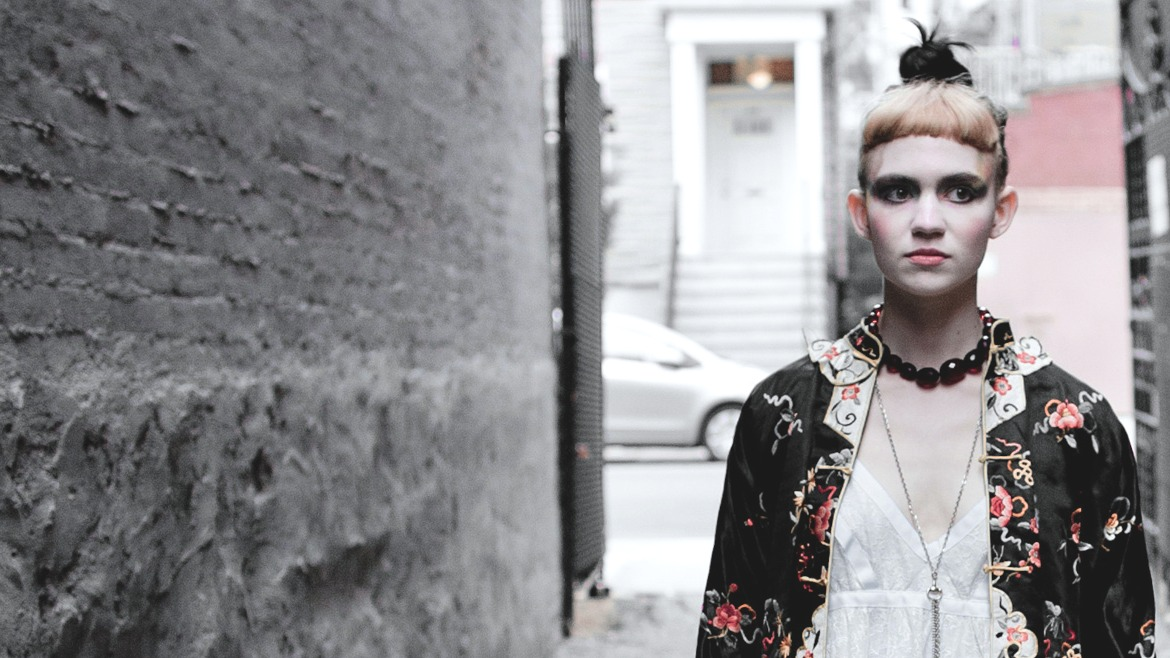 Grimes comparte Art Angels en streaming