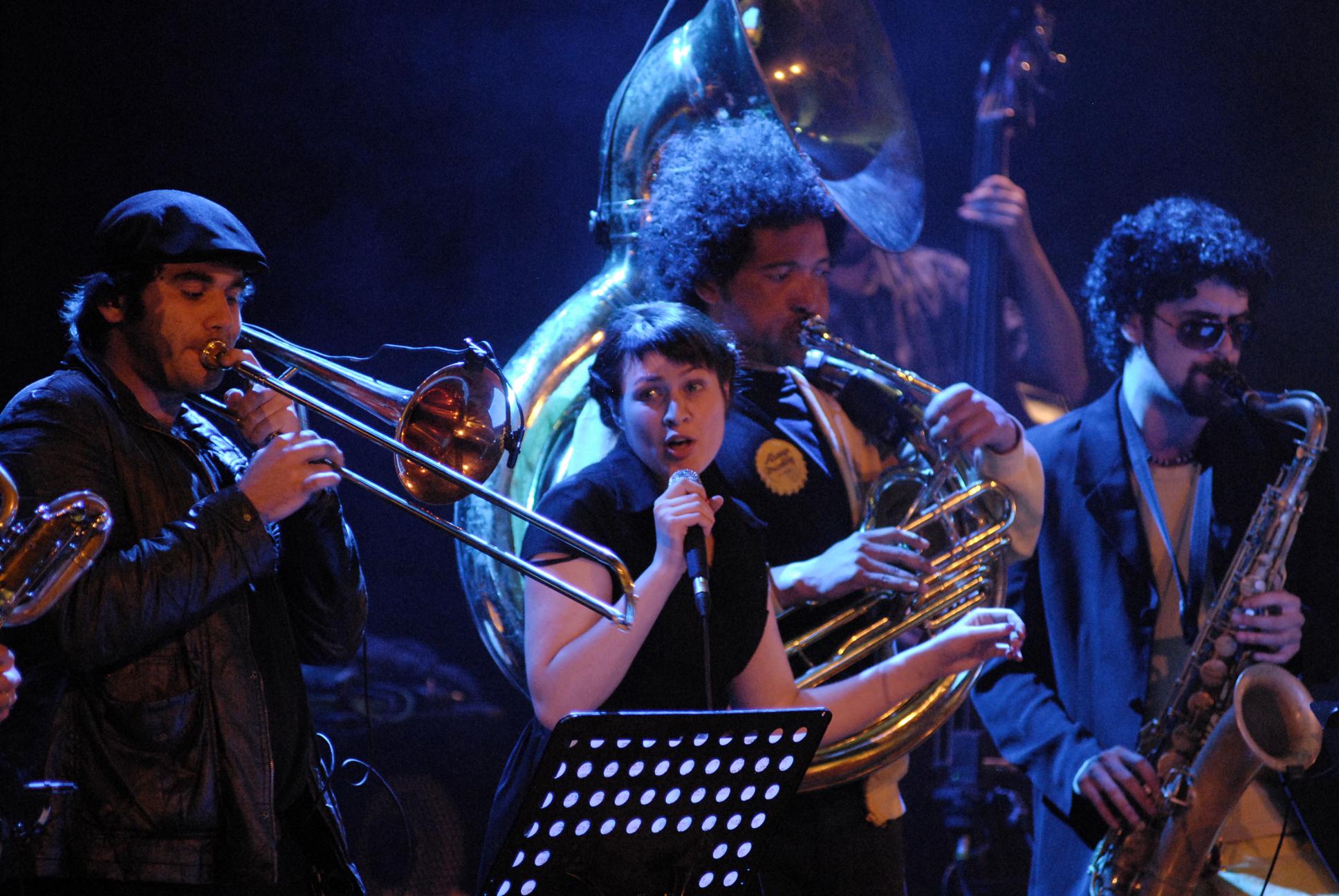 Anna Roig & L'Ombre de Ton Chien. Casino Aliança, 11/11/2011