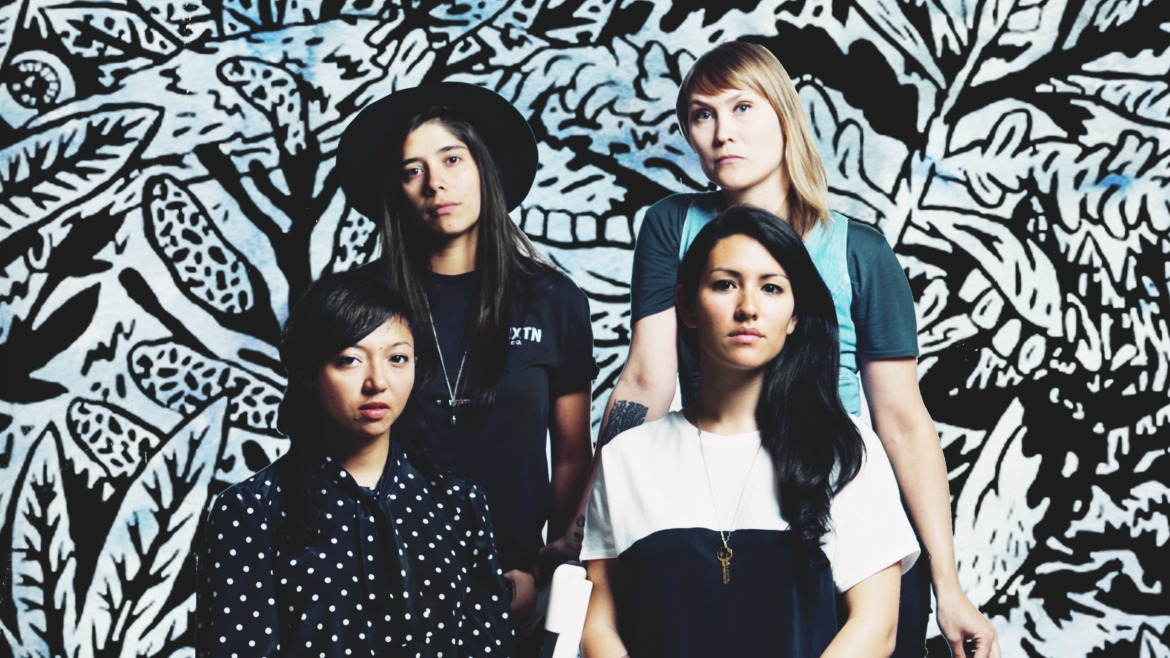 La Luz anuncian Weirdo Shrine y estrenan You dissapear