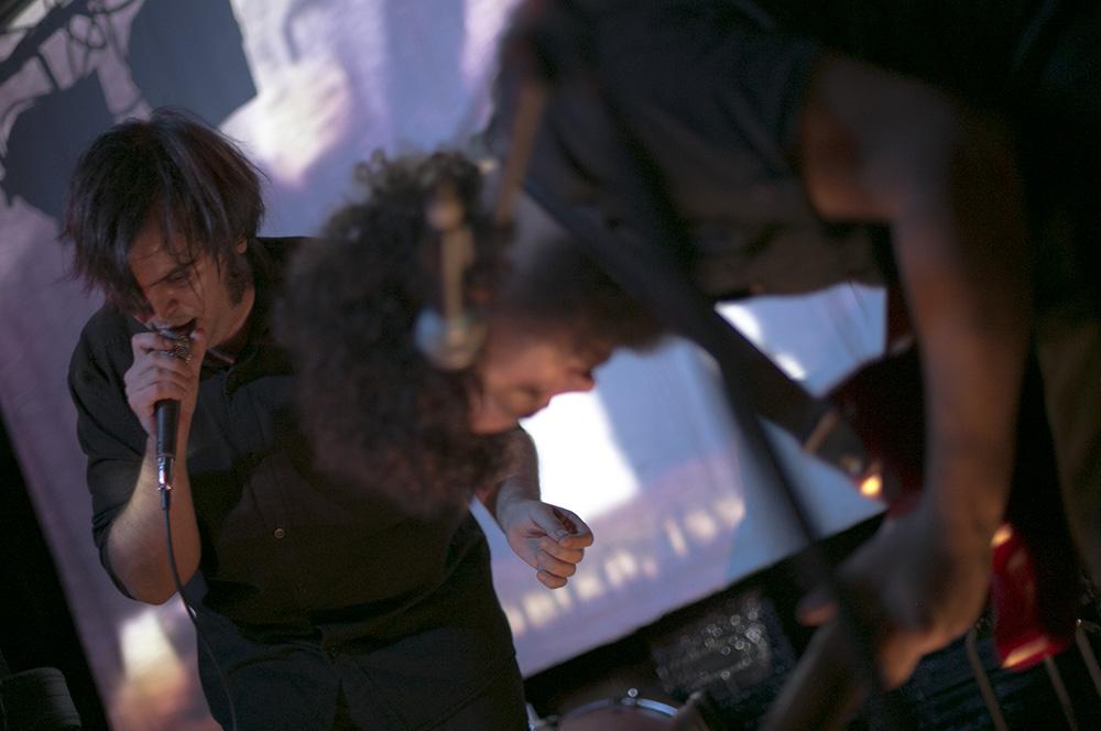 Medievo, cicerones del estreno en Barcelona de Pablo Und Destruktion