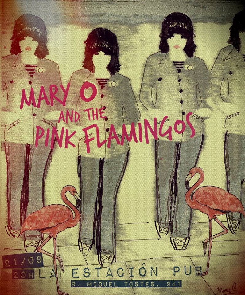 Mary O & The Pink Flamingos: Waters como base