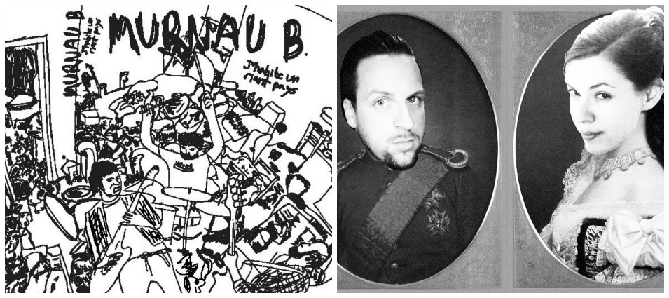 Murnau b y la colaboración entre Piresian Beach y Matthias von Stumberger, en cassette