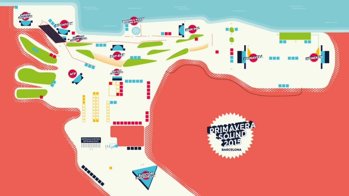 Primavera Sound 2015: ¡horarios ya disponibles!