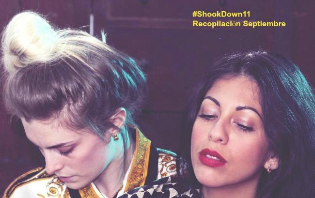 Shook Down Tracklist. Septiembre