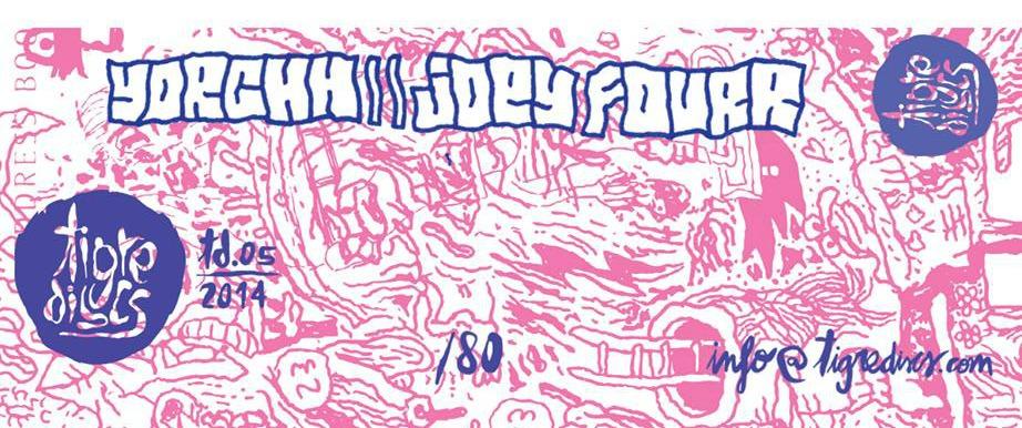 Tigre Discs edita split con YORCHH y Joey Fourr