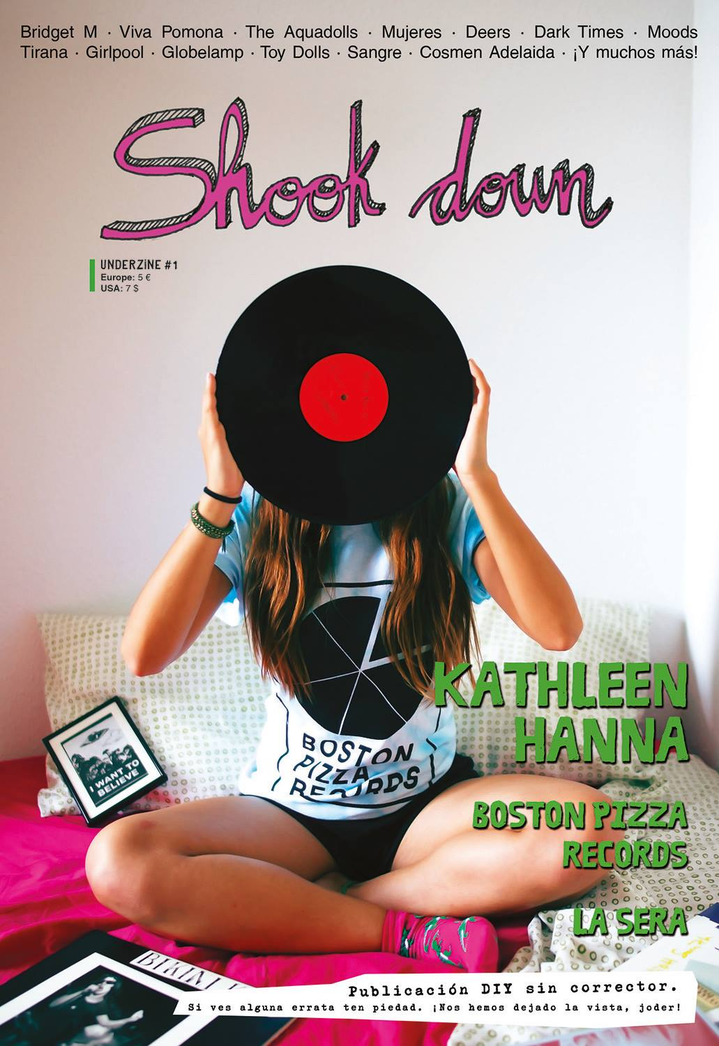 Shook Down Underzine #1 Ficha técnica