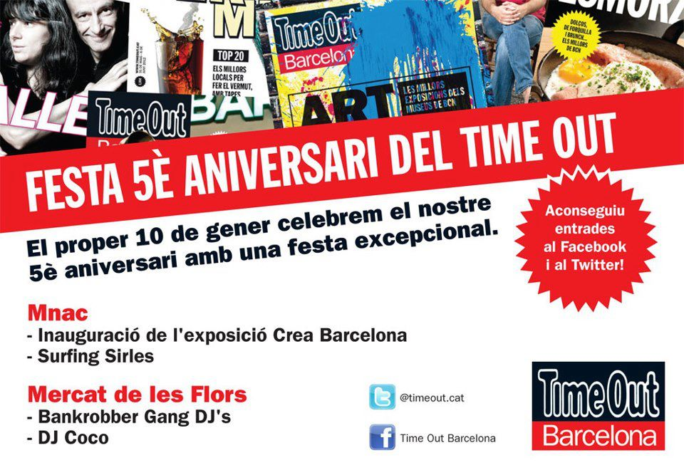 Time Out, d'aniversari amb els Surfing Sirles