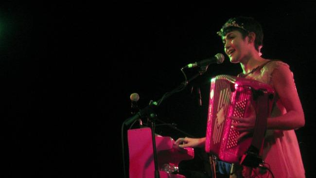 Maïa Vidal. La [2] de Apolo, 17/12/2011