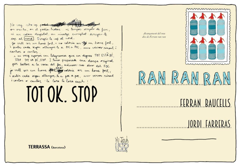 Ran Ran Ran estrena Tot OK STOP