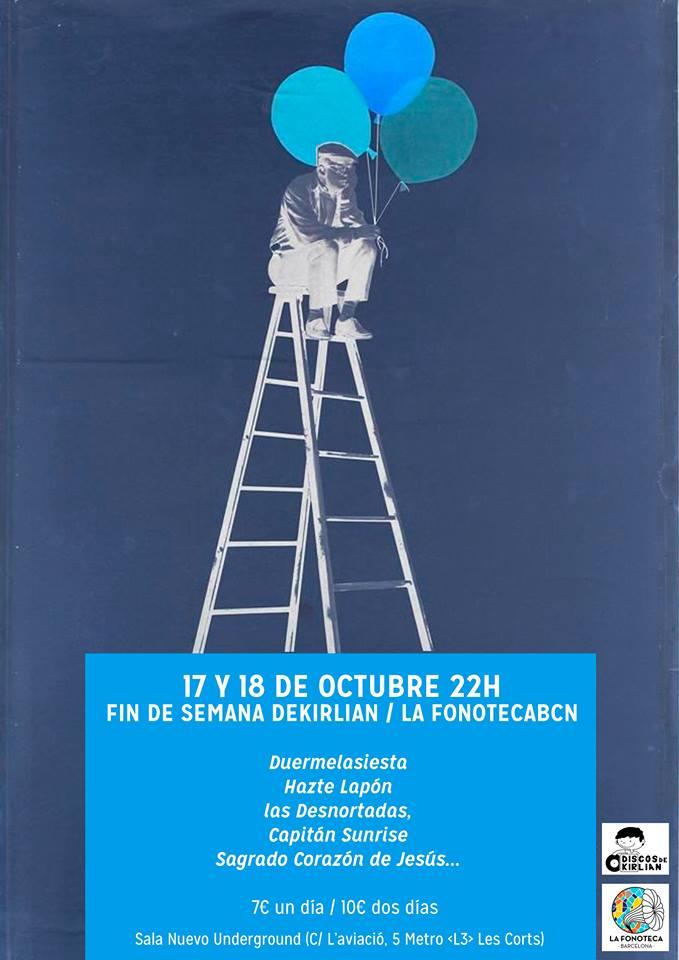 La Fonoteca Barcelona y Discos de Kirlian, de aniversario en la New Underground
