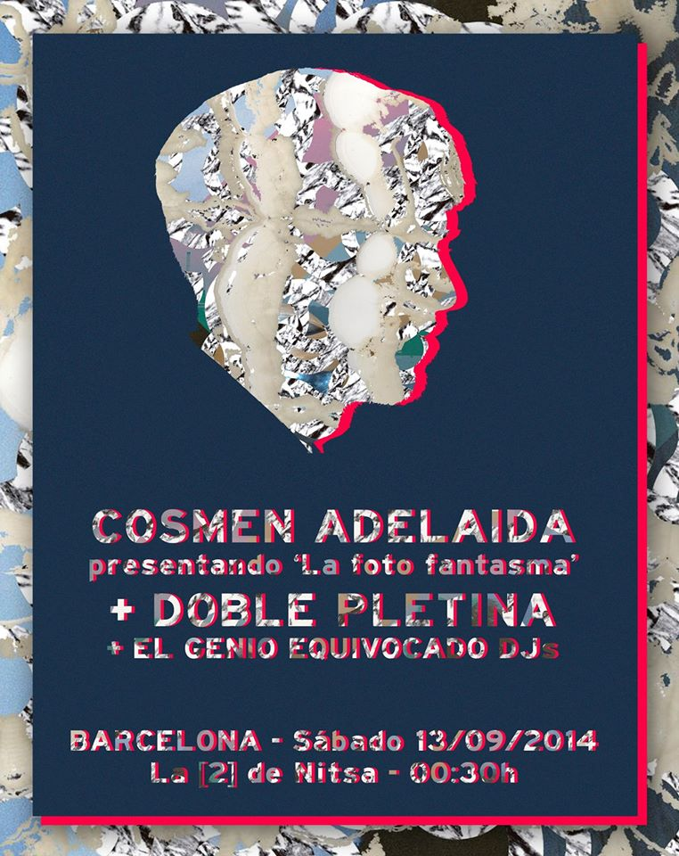 Cosmen Adelaida vuelven a Barcelona con su Foto Fantasma