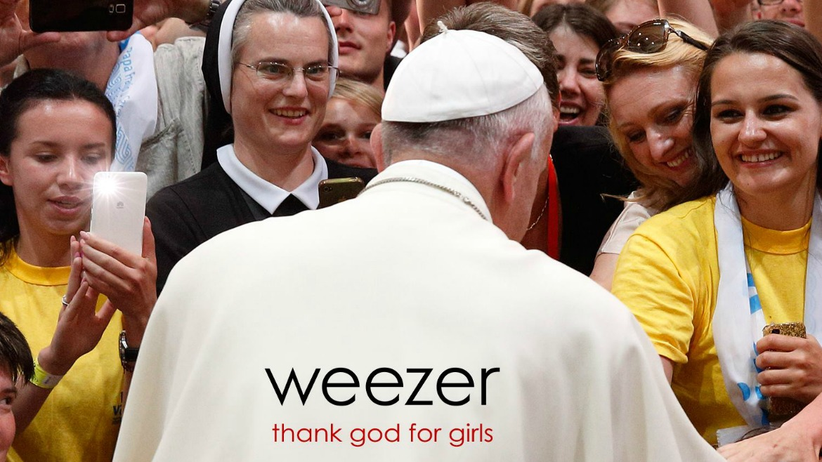 Weezer comparten 'Thank God for girls'