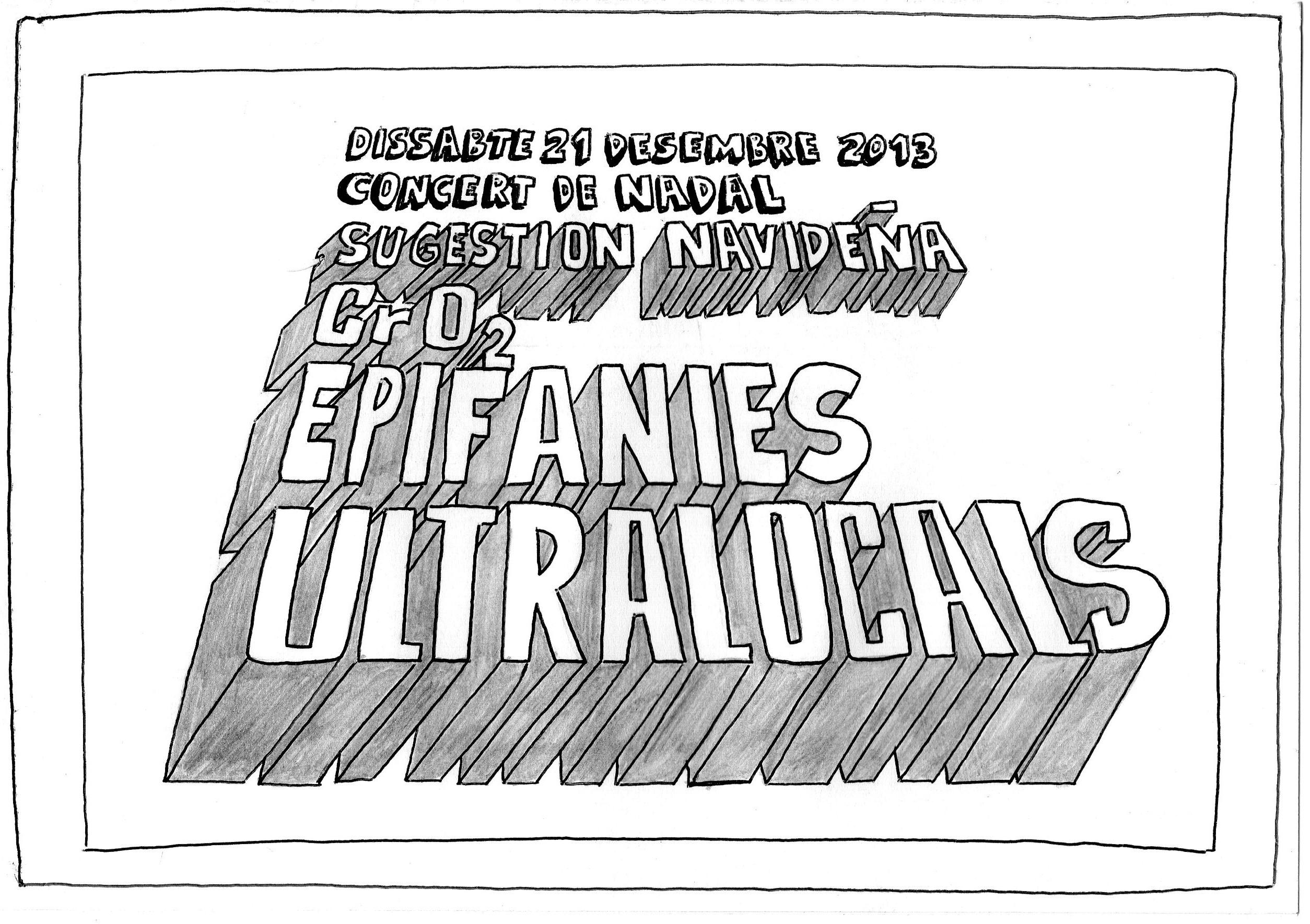 Epifanies Ultralocals: arriba el Concert de Nadal més experimental