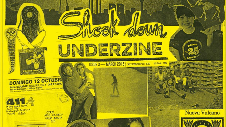 Shook Down UNDERZINE 3: portada y primeros detalles
