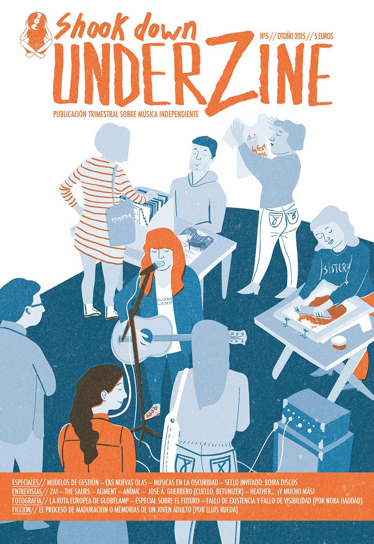 Shook Down Underzine Vol 5