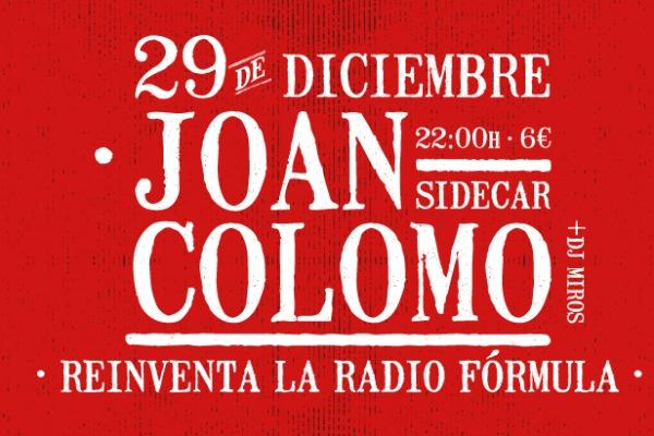 Joan Colomo reinventa la Radio Fórmula
