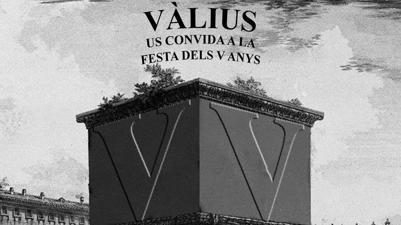 vàlius: con V de (quinto) aniVersario