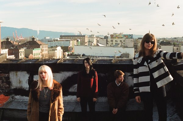 White Lung. El punk acelerado de Mish Way